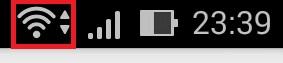 wi-fiマーク。