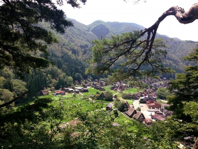 山間部の写真