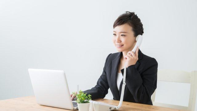 電話_女性
