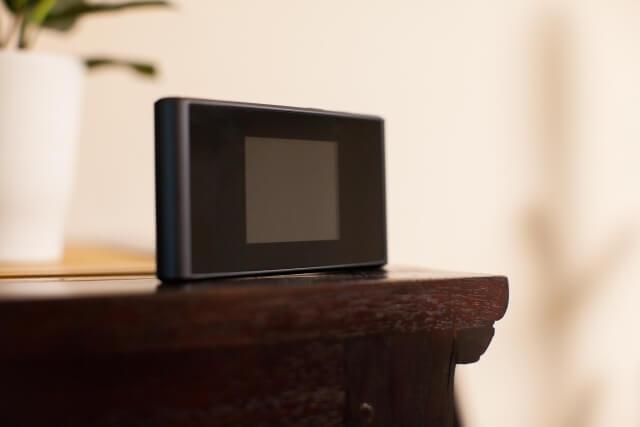 自宅でポケットWi-Fi