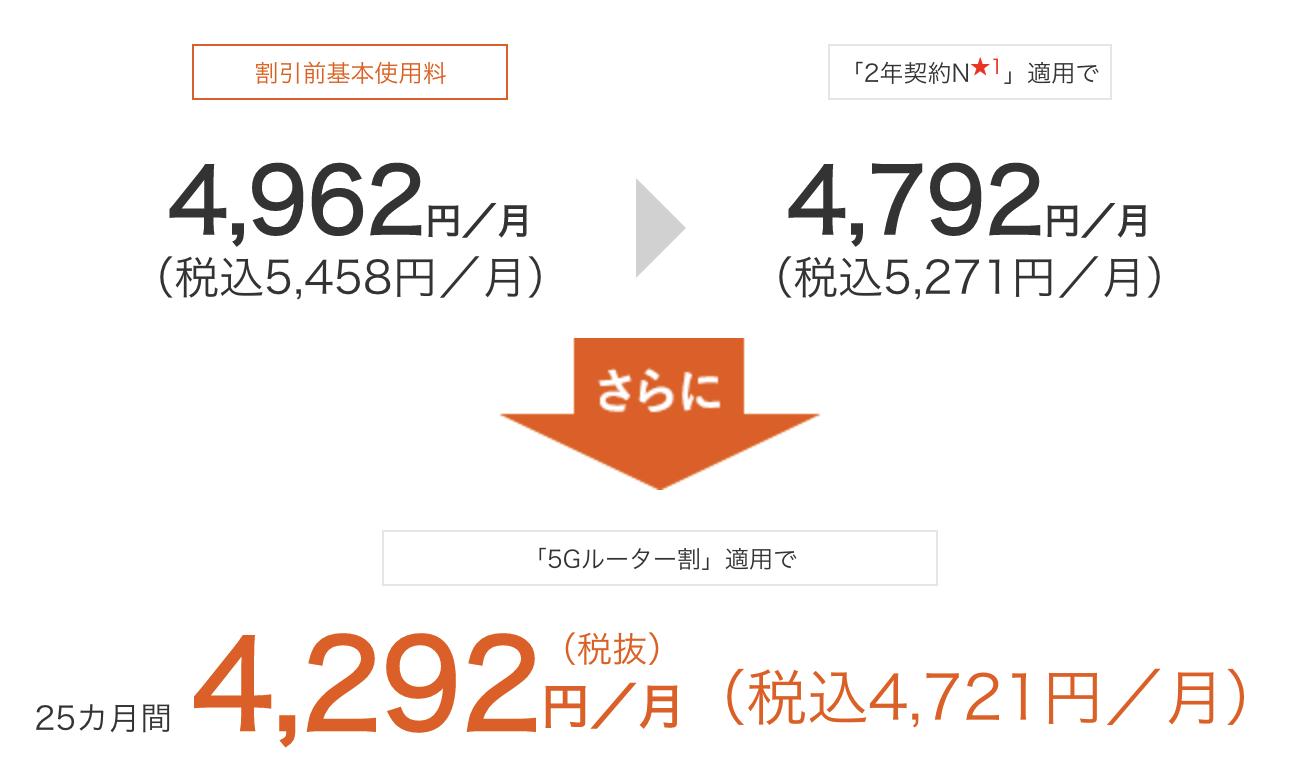 auひかり ポケットWi-Fi 5Gプラン